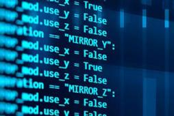 Programming code abstract technology background of software developer and computer script -  Screen Segment