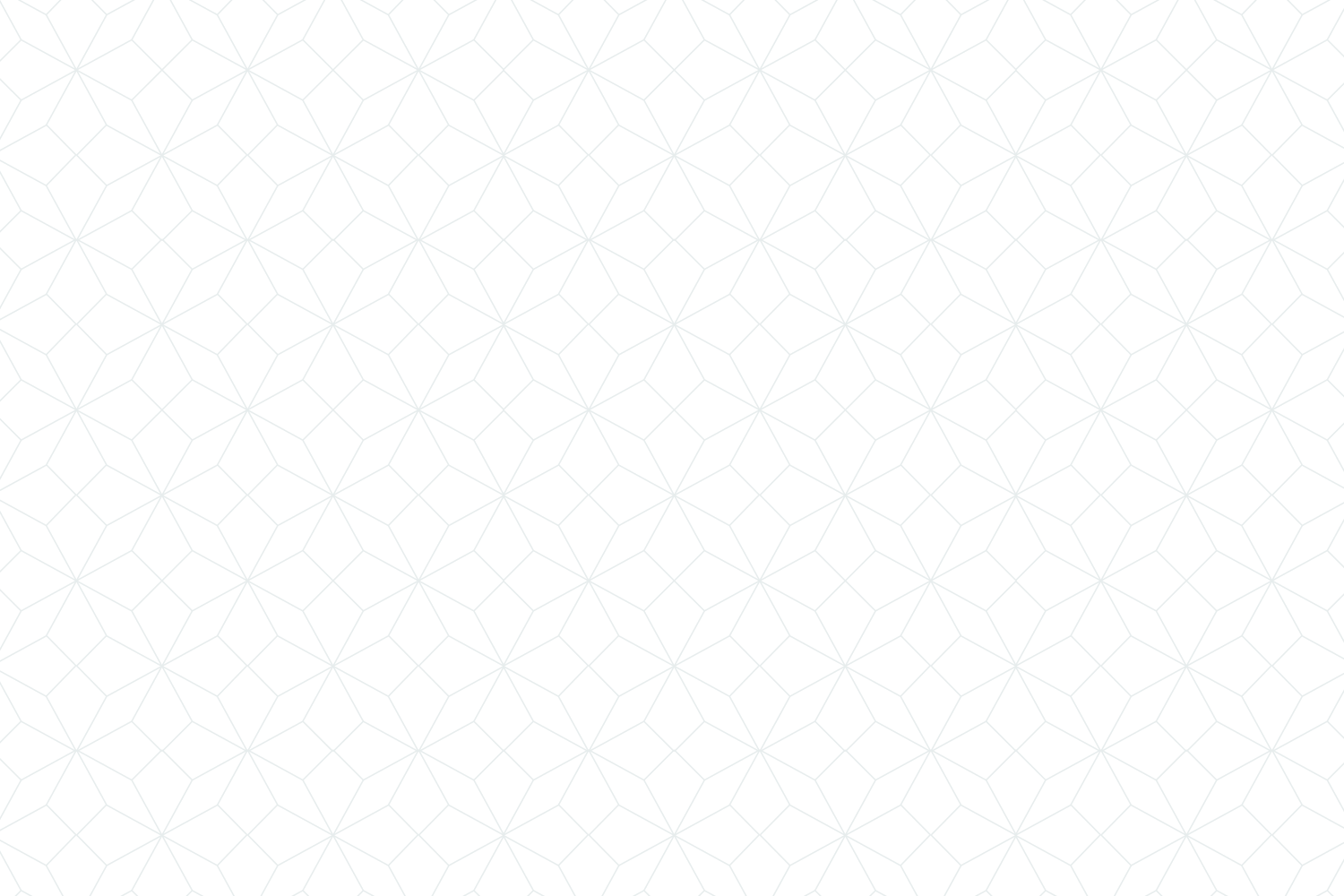White background with gray origami pattern